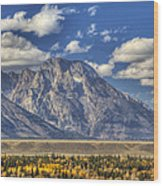 Teton Glory Wood Print