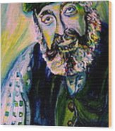 Tevye Fiddler On The Roof Wood Print