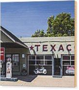 Texaco Nm Wood Print