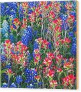 Texan Quilt Wood Print