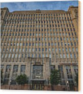 Texas And Pacific Lofts Color Wood Print