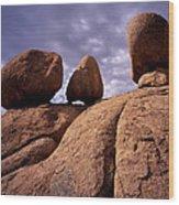 Texas Canyon Gnomes Wood Print