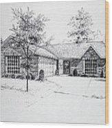 Texas Home 1 Wood Print