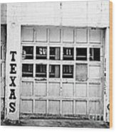 Texas Junk Co. Wood Print