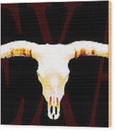 Texas Longhorns By Sharon Cummings Wood Print