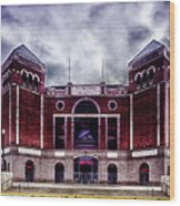 Texas Rangers Ballpark In Arlington Texas Wood Print