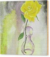 Texas Rose Wood Print