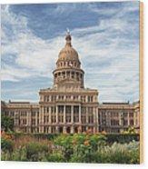 Texas State Capitol II Wood Print