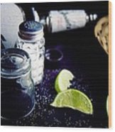 Texas Tequila Slammer 02 Wood Print