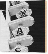 Texas Theater Wood Print
