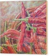 Texas Toothpicks Wood Print