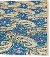 Textile Pattern Wood Print