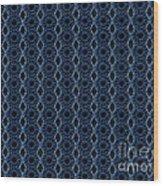 Textile Wood Print by Sparkey