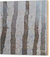 Textural Forest Wood Print