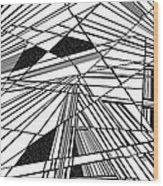 Tgif Wood Print