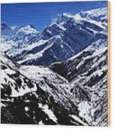 The Annapurna Circuit - The Himalayas Wood Print