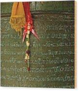 Thai Bell Wood Print