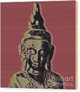 Thai Buddha #1 Wood Print