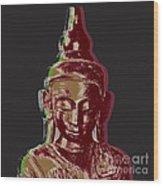 Thai Buddha #3 Wood Print