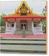 Thai Buddhist Temple I Wood Print