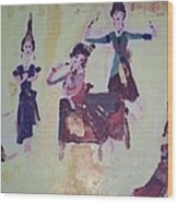 Thai Dance Wood Print