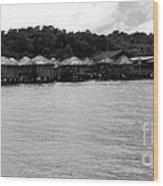 Thai Village Wood Print