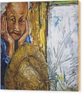 Thai Woman Wood Print