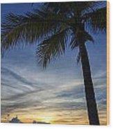 Thailand Sunset Sunrise Wood Print