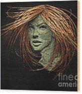 Thalia Of The Three Graces Wood Print