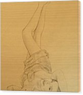 Thalia Sodi Wood Print