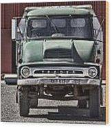 Thames Trader Vintage Truck Wood Print