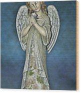 Thank You My Angel Wood Print