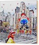 Thanksgiving Parade Wood Print