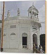 Thara Sahib Inside The Golden Temple Wood Print