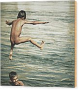 That Was A Great Day Wood Print