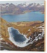 Thawing Spring Fjordland Vista Wood Print