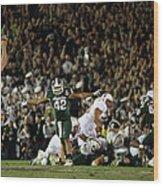 The 100th Rose Bowl Game - Stanford V Wood Print