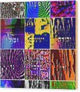 The 12 Tribes Wood Print by Dov Lederberg