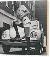 The 14 Millionth Volkswagen Beetle Given To The World Wood Print