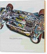 The 1978 F1 Lotus Wood Print