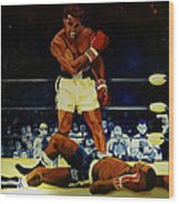 The 2nd Fight  Wood Print