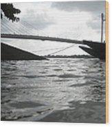 The 2nd Hoogly Bridge Wood Print