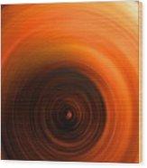 The #4 Brat Angel Influence Wood Print