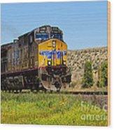 The 5789 Union Pacific Train Wood Print