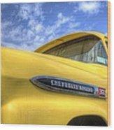 The 59 Yellow Apache Wood Print