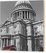 The 76 At St Pauls  Wood Print