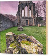 The Abbey  Wood Print