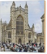 The Abby At Bath Wood Print by Mike McGlothlen