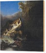 The Abduction Of Proserpina Wood Print