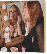 The Actress Wood Print